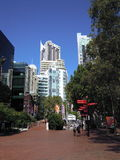 Sydney pejzaż miejski Obrazy Royalty Free