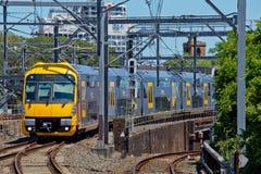 Sydney pociąg zdjęcia stock