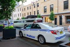 Sydney Police car Royalty Free Stock Photo