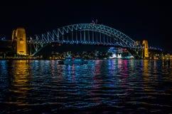 Sydney, ponte del porto Immagini Stock
