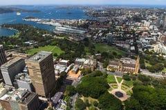 Sydney ptaka widok Obrazy Stock