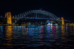 Sydney, puente del puerto Imagenes de archivo