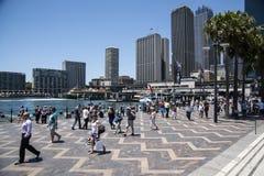 Sydney quay okrężny Obrazy Royalty Free