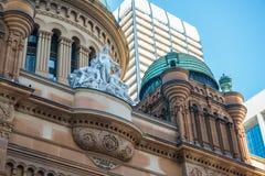 Sydney QVB Royalty-vrije Stock Afbeeldingen