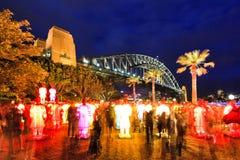 Sydney Rocks Terracota lanterns Royalty Free Stock Images
