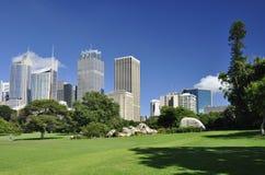 Sydney from Royal Botanic Garden Stock Photography