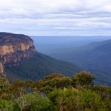 Sydney& x27;s Blue Mountains. A tourist view of Sydney& x27;s Blue Mountains Stock Photography