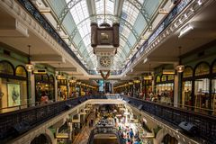 Sydney's Queen Victoria Building Interior Royalty Free Stock Photos