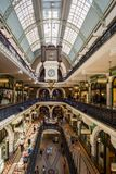 Sydney's Queen Victoria Building Interior Stock Photo