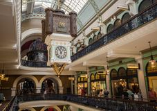 Sydney's Queen Victoria Building Interior Stock Photography