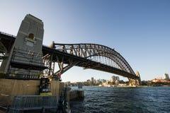 Sydney schronienia most Zdjęcie Royalty Free