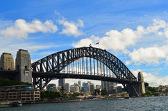 Sydney schronienia most 3 Zdjęcie Royalty Free