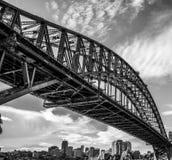 Sydney schronienia most Fotografia Royalty Free