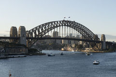 Sydney schronienia most, Australia Obrazy Stock