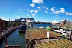 Sydney schronienia most i opera, Australia Obraz Stock