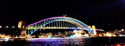 Sydney schronienia most przy Żywym Zdjęcia Stock