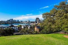 Sydney schronienia most Sydney Australia Zdjęcie Royalty Free