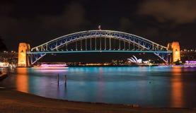 Sydney schronienia most 02 Żywy Obrazy Royalty Free