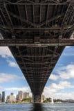Sydney schronienia mosta szczegóły Zdjęcie Stock