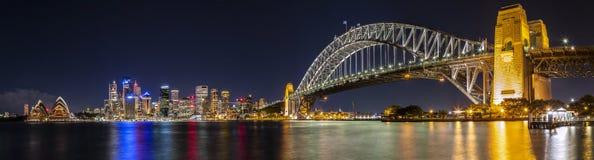 Sydney schronienia panorama Obraz Royalty Free