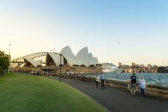 Sydney schronienia pejzaż miejski Fotografia Royalty Free