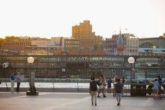 Sydney schronienia pejzaż miejski Fotografia Stock