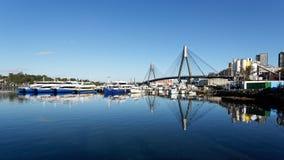 Sydney schronienia promy, Blackwattle zatoka, Sydney, Australia Zdjęcia Royalty Free