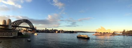 Sydney schronienia widok fotografia stock