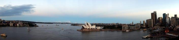 Sydney schronienia widok zdjęcia stock