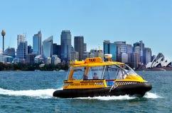 Sydney schronienia wody taxi Sydney Australia Nowe południowe walie NSW Obraz Stock