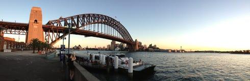Sydney schronienia zmierzch Obrazy Stock