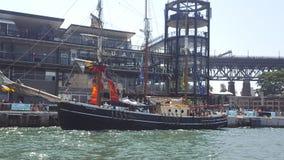 Sydney schronienie, wysocy statki ozdabia schronienie na Australia dniu, NSW, Australia obrazy royalty free