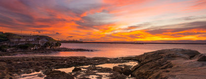 Sydney seascape Royalty Free Stock Images