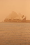 Sydney-September 2009 : The day have big sand strom cover all Sy Stock Photography