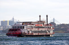 Sydney Showboat Stock Image
