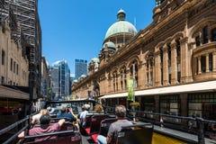 Sydney Sightseeing - George Street Stockfotografie
