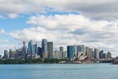Sydney sikt på middagen Arkivfoton