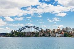 Sydney sikt på middagen Arkivbild