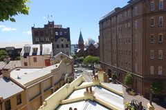Sydney skały teren obrazy royalty free