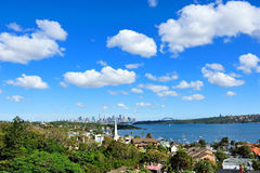 Sydney sky Stock Images