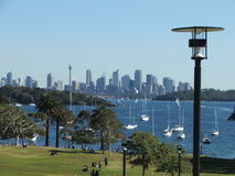 Sydney Skyline. Wich shows the AMP Tower Royalty Free Stock Photography