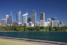 Sydney skyline. View of Sydney skyline and its bay Stock Photography