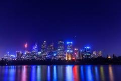 Sydney Skyline imagens de stock