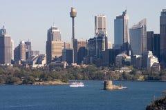 Sydney Skyline Stock Image