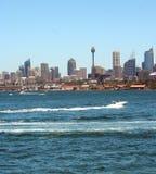 Sydney Skyline, Australia. Sydney Harbour skyline, Sydney, Australia Stock Photo