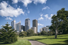 Sydney Skyline, Australia stock images