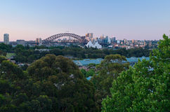 Sydney Skyline and Scenery Stock Photography