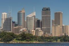Sydney Skyline under blue sky, Australia. Royalty Free Stock Photos