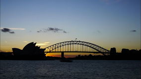 Sydney-SkylineZeitspanne stock video footage