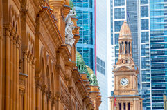 Sydney skyscrapers, Australia Royalty Free Stock Photos